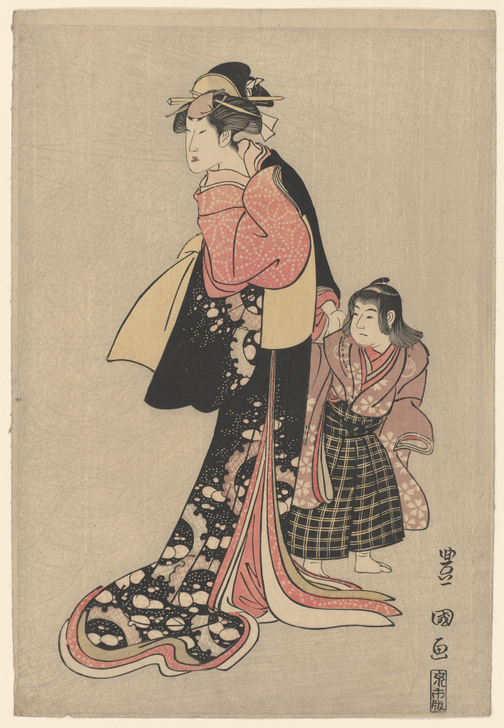 Utagawa%20Toyokuni%2C%20%3Cb%3E%3Ci%3E%20Nakamura%20Noshio%20II%20as%20Chiyo%20and%20a%20child%20actor%20as%20K%26%23244%3Btar%26%23244%3B%3C%2Fi%3E%3C%2Fb%3E%2C%20probably%201796%2C%20color%20woodblock%20print%20with%20mica%20ground%20on%20paper%3B%20%26%23333%3Bban%20nishiki-e%2C%20The%20Mary%20Andrews%20Ladd%20Collection%2C%20public%20domain%2C%2032.345