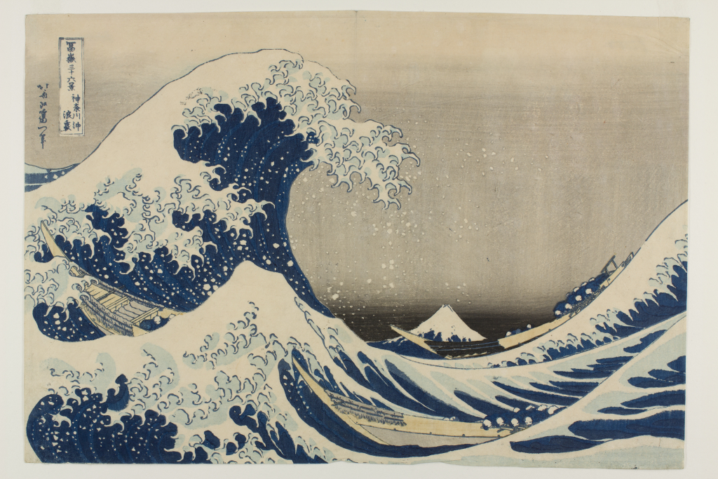 Katsushika%20Hokusai%2C%20%3Cb%3E%3Ci%3E%20Thirty-Six%20Views%20of%20Mt.%20Fuji%3A%20%20The%20Great%20Wave%20off%20Kanagawa%3C%2Fi%3E%3C%2Fb%3E%2C%20ca.%201831%2C%20color%20woodblock%20print%2C%20The%20Mary%20Andrews%20Ladd%20Collection%2C%20public%20domain%2C%2032.415