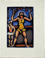 Georges%20Rouault%2C%20%3Cb%3E%3Ci%3E%20Cirque%20de%20l%26%238217%3B%26%23233%3Btoile%20filante%3A%20Jongleur%20%28Juggler%29%2C%20plate%20V%3C%2Fi%3E%3C%2Fb%3E%2C%201934%3B%20printed%20by%201936%3B%20published%201938%2C%20color%20aquatint%20and%20etching%20on%20Verg%26%23233%3B%20de%20Montval%20paper%2C%20Museum%20Purchase%3A%20Ella%20M.%20Hirsch%20Fund%2C%20%26%23169%3B%20artist%20or%20other%20rights%20holder%2C%2040.8.5