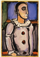 Georges%20Rouault%2C%20%3Cb%3E%3Ci%3E%20Cirque%20de%20l%26%238217%3B%26%23233%3Btoile%20filante%3A%20Pierrot%2C%20plate%20XIV%3C%2Fi%3E%3C%2Fb%3E%2C%201935%3B%20printed%20by%201936%3B%20published%201938%2C%20color%20aquatint%20and%20etching%20on%20Verg%26%23233%3B%20de%20Montval%20paper%2C%20Museum%20Purchase%3A%20Ella%20M.%20Hirsch%20Fund%2C%20%26%23169%3B%20artist%20or%20other%20rights%20holder%2C%2040.8.14