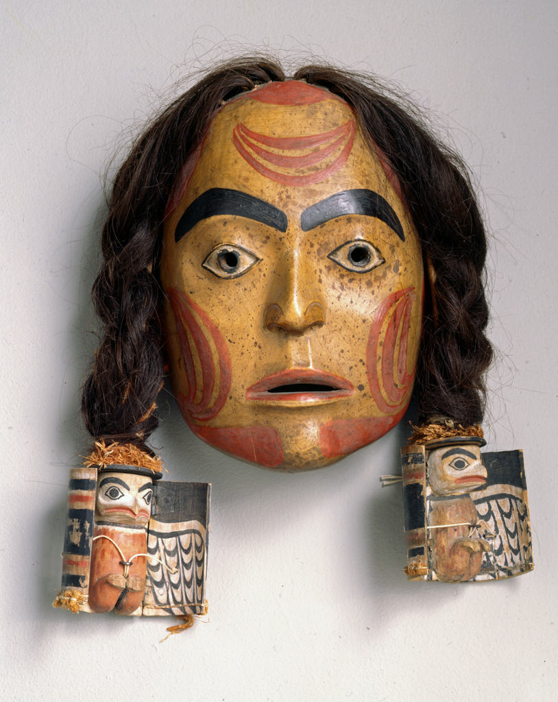 Nisga%27a%20artist%2C%20%3Cb%3E%3Ci%3E%20Mask%3C%2Fi%3E%3C%2Fb%3E%2C%20ca.%201860%2C%20human%20hair%2C%20paint%2C%20cedar%20bark%2C%20and%20wood%2C%20Museum%20Purchase%3A%20Helen%20Thurston%20Ayer%20Fund%2C%20no%20known%20copyright%20restrictions%2C%2046.14