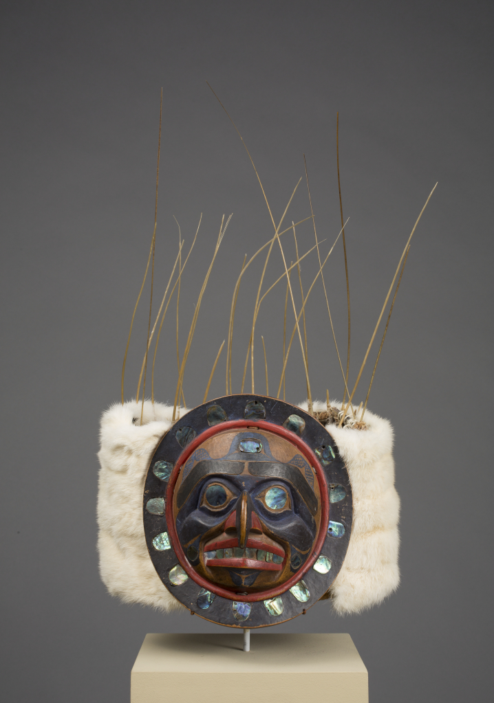 Kwakwaka%27wakw%20artist%2C%20%3Cb%3E%3Ci%3E%20Dance%20Headdress%3C%2Fi%3E%3C%2Fb%3E%2C%201880%2F1899%2C%20paint%20on%20wood%20with%20abalone%20shell%20inlay%2C%20sea%20lion%20whiskers%2C%20cedar%20bark%2C%20and%20cloth%2C%20Museum%20Purchase%3A%20Indian%20Collection%20Subscription%20Fund%2C%20Rasmussen%20Collection%20of%20Northwest%20Coast%20Indian%20Art%2C%20no%20known%20copyright%20restrictions%2C%2048.3.699