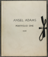 Ansel%20Adams%2C%20%3Cb%3E%3Ci%3E%20Portfolio%20One%3A%20Twelve%20Photographic%20Prints%20by%20Ansel%20Adams%3C%2Fi%3E%3C%2Fb%3E%2C%201946%2C%20covered%20board%20with%20letterpress%20and%20cloth%20ribbon%2C%20Museum%20Purchase%3A%20Caroline%20Ladd%20Pratt%20Fund%2C%20%26%23169%3B%20artist%20or%20other%20rights%20holder%2C%2051.211o