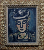 Georges%20Rouault%2C%20%3Cb%3E%3Ci%3E%20Head%3C%2Fi%3E%3C%2Fb%3E%2C%20ca.%201920%2C%20oil%20on%20canvas%2C%20Gift%20of%20Harry%20Lenart%2C%20%26%23169%3B%20artist%20or%20other%20rights%20holder%2C%2052.169