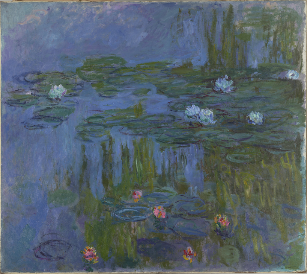 Claude%20Monet%2C%20%3Cb%3E%3Ci%3E%20Nymph%26%23233%3Bas%20%28Waterlilies%29%3C%2Fi%3E%3C%2Fb%3E%2C%201914-1915%2C%20oil%20on%20canvas%2C%20Museum%20Purchase%3A%20Helen%20Thurston%20Ayer%20Fund%2C%20public%20domain%2C%2059.16