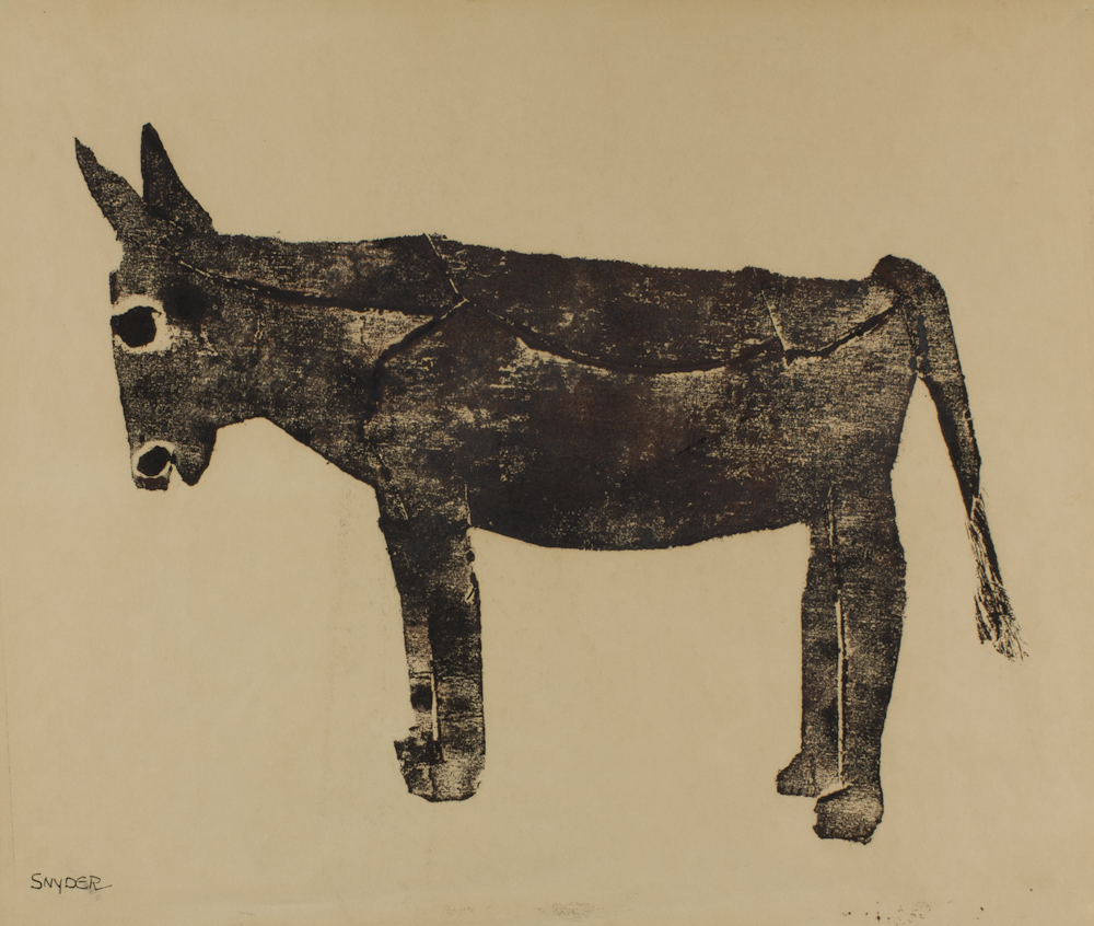 Amanda%20Snyder%2C%20%3Cb%3E%3Ci%3E%20A%20Donkey%3C%2Fi%3E%3C%2Fb%3E%2C%20ca.%201965%2C%20linocut%20on%20paper%2C%20Gift%20of%20Max%20W.%20Buhmann%2C%20no%20known%20copyright%20restrictions%2C%2069.32