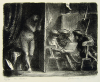 Edward%20Ardizzone%2C%20%3Cb%3E%3Ci%3E%20The%20Model%3C%2Fi%3E%3C%2Fb%3E%2C%201953%2C%20lithograph%20on%20wove%20paper%2C%20The%20Vivian%20and%20Gordon%20Gilkey%20Graphic%20Arts%20Collection%2C%20%26%23169%3B%20unknown%2C%20research%20required%2C%2081.81.514