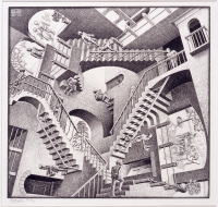 M.%20C.%20Escher%2C%20%3Cb%3E%3Ci%3E%20Relativity%3C%2Fi%3E%3C%2Fb%3E%2C%201953%2C%20lithograph%20on%20paper%2C%20Gift%20of%20Mr.%20Robert%20D.%20O%27Brien%2C%20%26%23169%3B%20artist%20or%20other%20rights%20holder%2C%2081.102