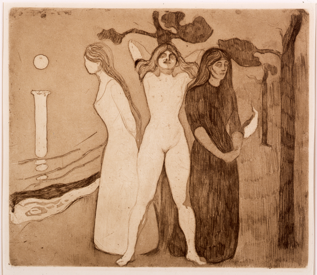 Edvard%20Munch%2C%20%3Cb%3E%3Ci%3E%20The%20Woman%20II%3C%2Fi%3E%3C%2Fb%3E%2C%201895%2C%20etching%2C%20aquatint%2C%20and%20drypoint%2C%20Museum%20Purchase%3A%20Funds%20provided%20by%20Dr.%20Armand%20Hammer%20and%20the%20Helen%20Thurston%20Ayer%20Fund%2C%20%26%23169%3B%20artist%20or%20other%20rights%20holder%2C%2082.50
