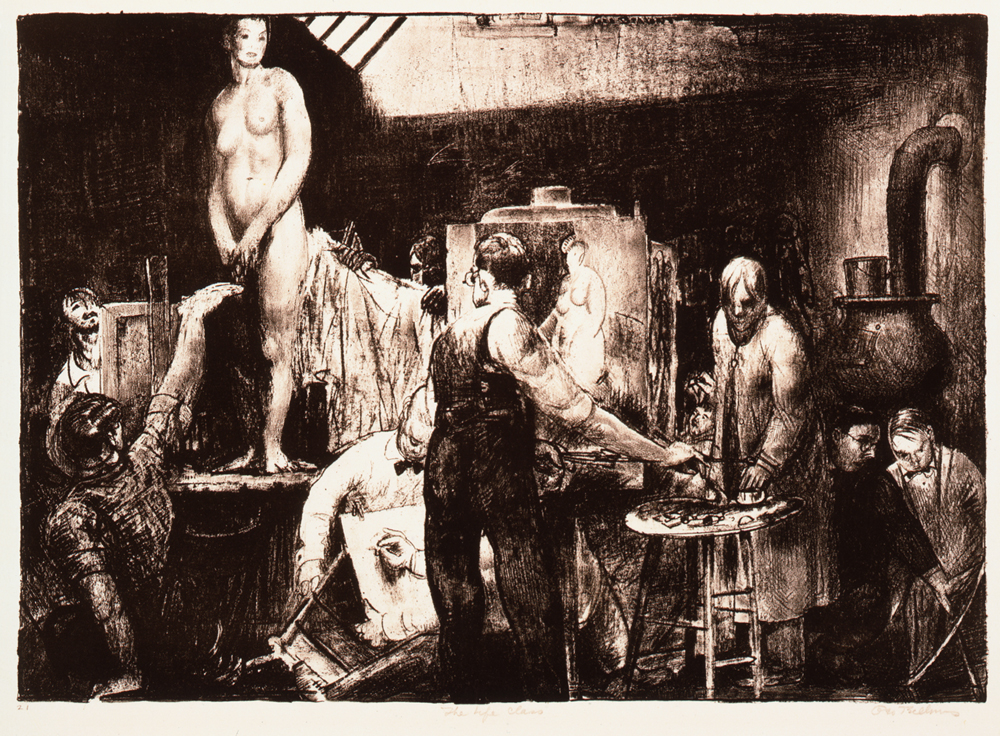 George%20Wesley%20Bellows%2C%20%3Cb%3E%3Ci%3E%20The%20Life%20Class%3C%2Fi%3E%3C%2Fb%3E%2C%201917%2C%20lithograph%20on%20beige%2C%20medium%20thick%2C%20slightly%20textured%20laid%20paper%2C%20Museum%20Purchase%3A%20Helen%20Thurston%20Ayer%20Fund%2C%20public%20domain%2C%2086.54