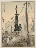 Nishizawa%20Tekiho%2C%20%3Cb%3E%3Ci%3E%20Nihonbashi%20at%20Twilight%2C%20from%20the%20series%20Collection%20of%20Woodblock%20Prints%20of%20the%20Taish%26%23244%3B%20Earthquake%3C%2Fi%3E%3C%2Fb%3E%2C%201924%2C%20color%20woodblock%20print%20on%20paper%2C%20Gift%20of%20Dr.%20and%20Mrs.%20Joseph%20F.%20Paquet%2C%20%26%23169%3B%20Heirs%20of%20Nishizawa%20Tekiho%2C%2088.6.1