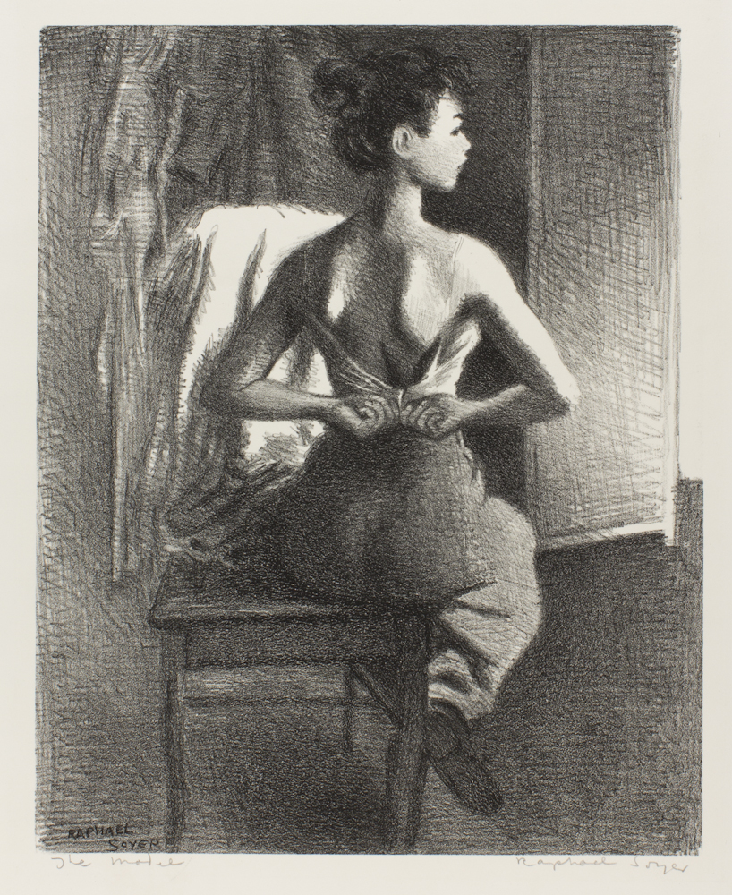 Raphael%20Soyer%2C%20%3Cb%3E%3Ci%3E%20Young%20Model%3C%2Fi%3E%3C%2Fb%3E%2C%201940%2C%20lithograph%20on%20cream%20wove%20paper%2C%20The%20Vivian%20and%20Gordon%20Gilkey%20Graphic%20Arts%20Collection%2C%20%26%23169%3B%20Estate%20of%20Raphael%20Soyer%2C%20courtesy%20of%20Forum%20Gallery%2C%20New%20York%2C%2091.84.5
