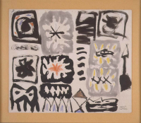Adolph%20Gottlieb%2C%20%3Cb%3E%3Ci%3E%20Untitled%3C%2Fi%3E%3C%2Fb%3E%2C%201949%2C%20crayon%2C%20ink%2C%20and%20pencil%20on%20paper%2C%20The%20Clement%20Greenberg%20Collection%3B%20Museum%20Purchase%3A%20Funds%20provided%20by%20Tom%20and%20Gretchen%20Holce%2C%20%26%23169%3B%20artist%20or%20other%20rights%20holder%2C%202001.1.49