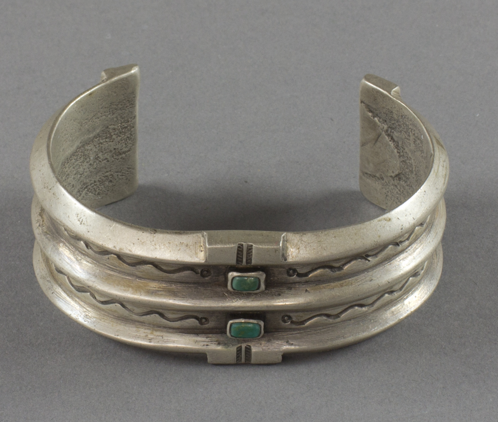 Navajo%20artist%2C%20%3Cb%3E%3Ci%3E%20Sandcast%20Bracelet%3C%2Fi%3E%3C%2Fb%3E%2C%20ca.%201950%2C%20silver%20and%20turquoise%2C%20The%20Elizabeth%20Cole%20Butler%20Collection%2C%20no%20known%20copyright%20restrictions%2C%202012.92.163